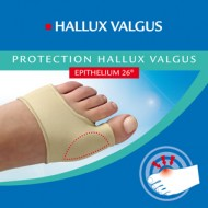 Epitact protection hallux valgus