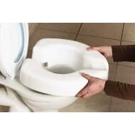 Rehausseur de toilette Novelle Clip-on sans, fixation sans calles