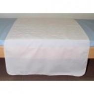 Alèse textile lavable pour le lit avec rabbat