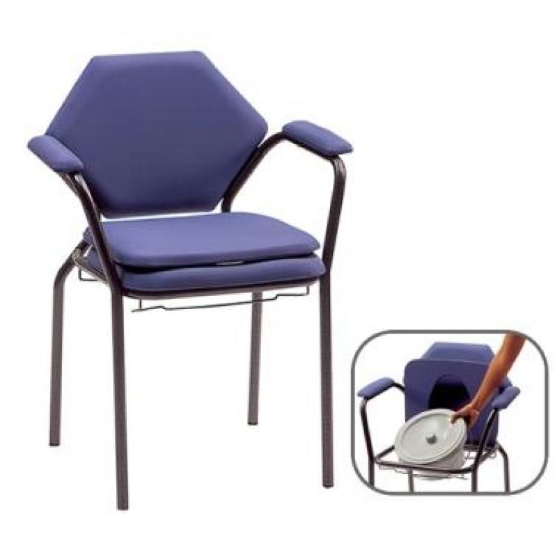 chaise de toilettes classique. Black Bedroom Furniture Sets. Home Design Ideas